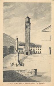 ITALIA Italy Pieve d`Alpago Belluno Monumento Pro Caduti