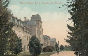 GUELPH, Ontario, Canada, PU-1908; Main Building, O.A.C.