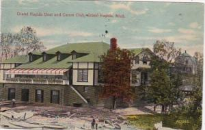 Michigan Grand Rapids Boat and Canoe Club 1914
