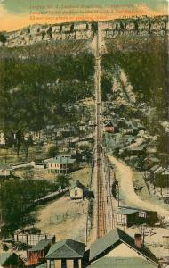 Chattanooga Tennessee~Cable Incline No. 2~ Lookout Mountain~1910 Postcard
