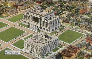 Linen of Court House & Safety Building Milwaukee Wisconsin