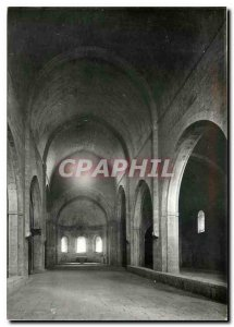 Modern Postcard The Var Thoronet Abbey Nave of the Church to the West