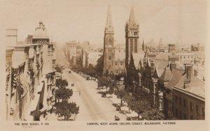 RP: MELBOURNE , Victoria. , Australia , 1920-30s ; Collins Street