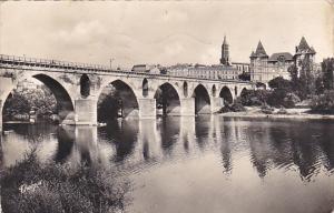France Montauban Le Vieux Pont et le Musee Ingres 1957 Photo