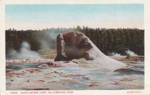 YELLOWSTONE, Wyoming, 1900-1910's; Giant Geyser Cone
