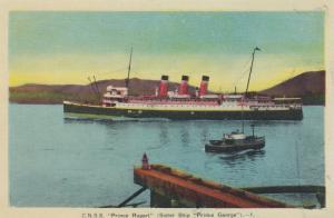 Steamer , C.N.S.S. PRINCE RUPERT, Canada , 30-40s