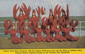 ATLANTIC CITY , New Jersey, 1930-40s ; Hackney's Lobster Waitresses