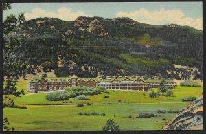 Estes Park Chalets Rocky Mountain National Park Colorado Unused c1936