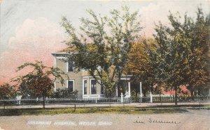 G17/ Weiser Idaho Postcard c1910 Josephine Hospital Building