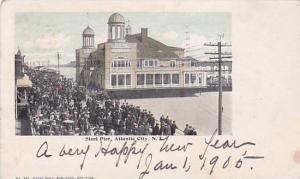 Exterior, The Steel Pier,  Atlantic City,  New Jersey, PU-1905