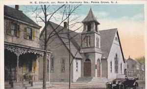 New Jersey Penns Grove M E Church Penn &  Harmony Streets
