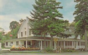 Main Lodge at Miners Bay Lodge, Ontario, Canada, 40-60s