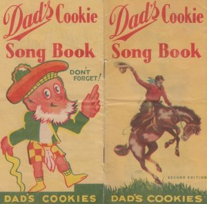 Cowboy , Dad's Cookie Company Song Book , 00-10s