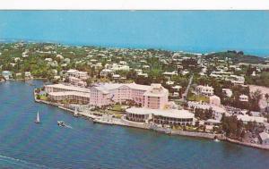 The Princess Hotel, facing the blue water of Hamilton Harbour, Hamilton,  Ber...
