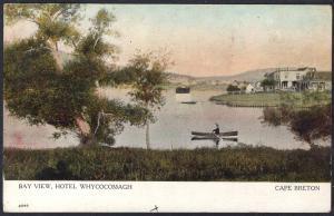 Bay View,Hotel,Whycocomach,Cape Breton,Nova Scotia,Canada