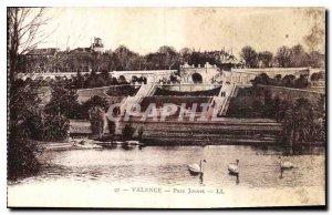 Old Postcard Valencia Park Jouvet