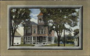 Enfield NH Whitney Hall Library & Memorial Bldg c1910 Postcard