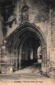 Porte du Palais des Papes,Avignon,France BIN
