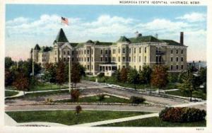 Nebraska State Hospital Hastings NE Unused