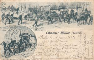 Schweizer Militar [Sanitat] , Switzerland , PU-1902