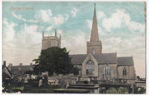 Wiltshire; Purton Church PPC Swindon 1907 PMK to Mrs Waite, Boscombe