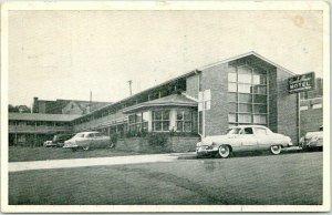 BRIMINGHAM, Alabama Postcard RANCH HOUSE MOTEL Route 31 Roadside / 1953 Cancel