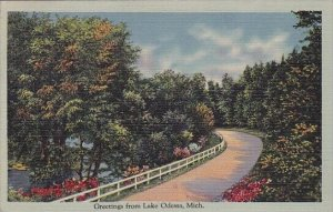 Greetings From Lake Odessa Michigan 1941