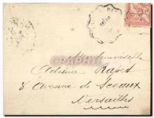 Letter to share Mouchon 1903