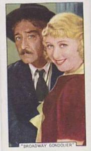 Gallaher Cigarette Card Film Episodes No. 20 Broadway Gondolier