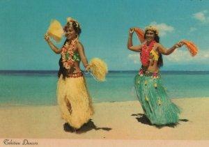 Tahiti Postcard - Tahitian Dancers, French Polynesia  RR8290