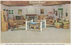 Elsie & Elmer, Beauragard, too, Traveling Representatives of Borden's, 1940-60s