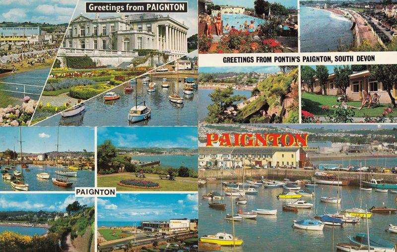 Pontins Paignton South Devon 1970s 4x Postcard s