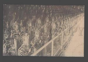 086135 JAPAN FESTIVAL in KYOTO 1913 Vintage real photo PC