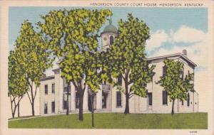 Kentucky Henderson County Court House