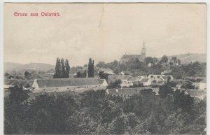 Slovakia; Gruss Aus Oslavan PPC, To DH Nicholls, Worcester, c 1910's