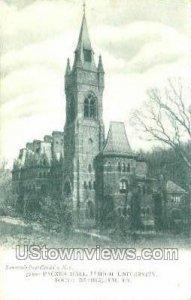 Packer Hall, Lehigh University - South Bethlehem, Pennsylvania