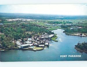 Unused Pre-1980 PORT PARADISE Crystal River - Homosassa & Spring Hill FL A4150