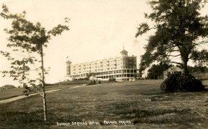 ME - Poland.  Summit Springs Hotel  RPPC