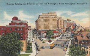 WILMINGTON , DE , 30-40s ; Nemours Building from Delaware Ave. & Washington St.