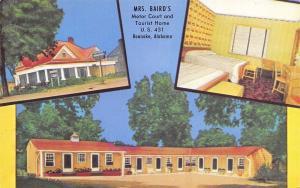Roanoke Alabama~Baird Motor Court on US Route 431~Baby Beds 1950s