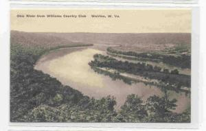 Ohio River from Williams Country Club , WEIRTON, West Virginia, 20-40s
