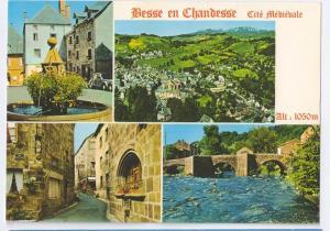 Besse en Chandesse Auvergne Medieval City France 4X6 Chrome