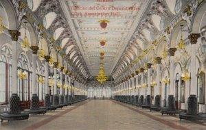HABANA, Cuba, 1900-10s; Interior del Centro Depdientes, Clerk Appreciation Hall