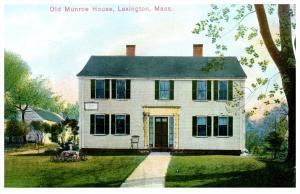 Massachusetts Lexington  Munroe House