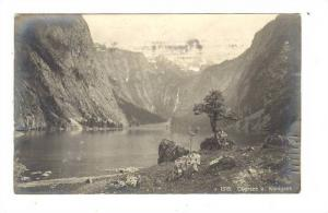 RP, Partial View, Obersee A. Königsee (Thuringia), Germany, PU-1906