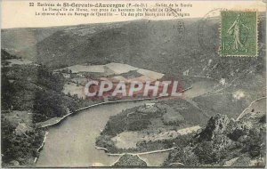 Postcard Old Surroundings of St Gervais d'Auvergne (P Dome) Vallee Sioul La P...