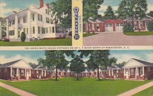 Del Haven White House Cottages Berwyn Maryland 1952