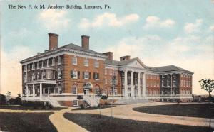 Lancaster Pennsylvania~New F&M Academy Building~Franklin & Marshall~1912 PC