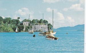 Bay of Fort-de-France , Martinique , 40-60s