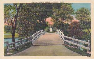 Massachusetts Concord Old North Bridge